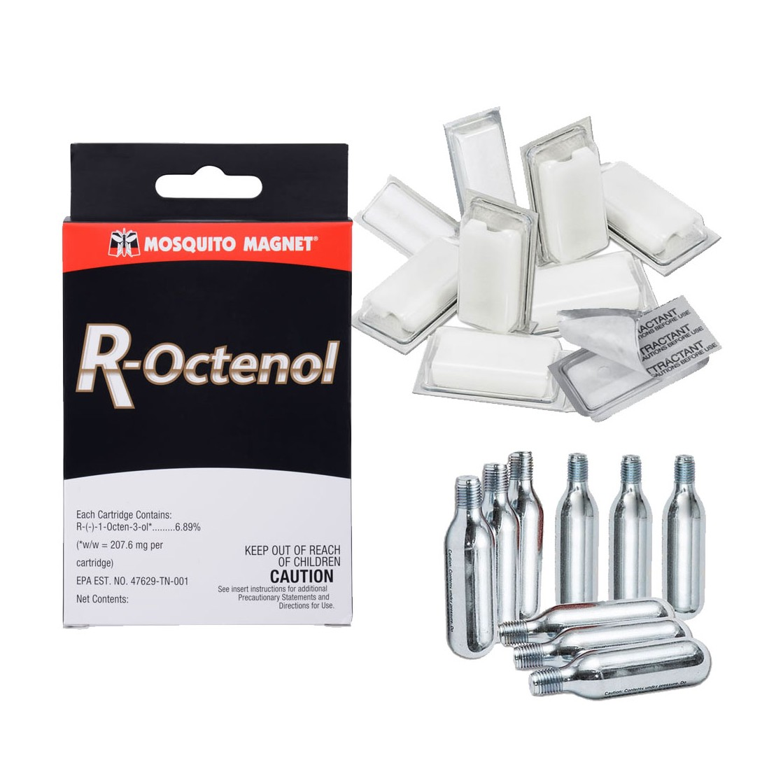 Kit Octenolo 6 mesi + cartucce pulizia Mosquito Magnet