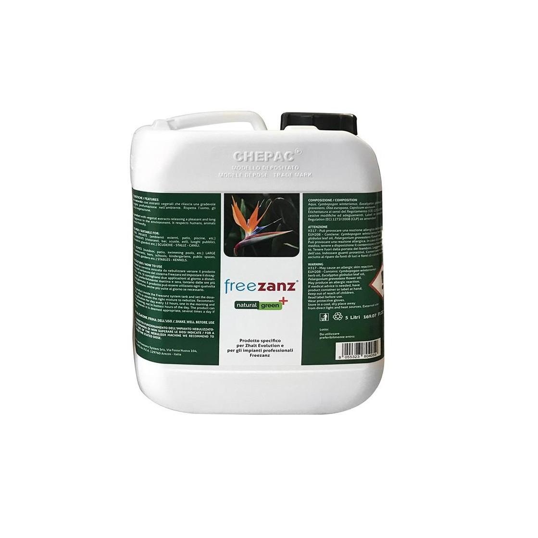 Freezanz Natural Green+ 5 litri - zanzare e insetti volanti