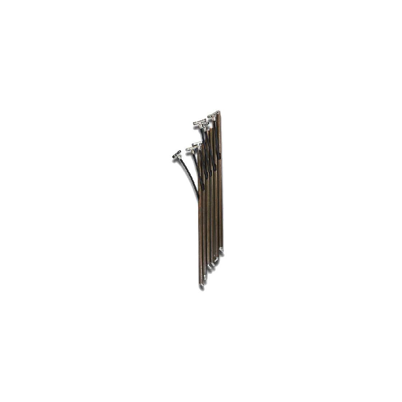 Kit picchetti similbambù con tubo 100 cm per Zhalt
