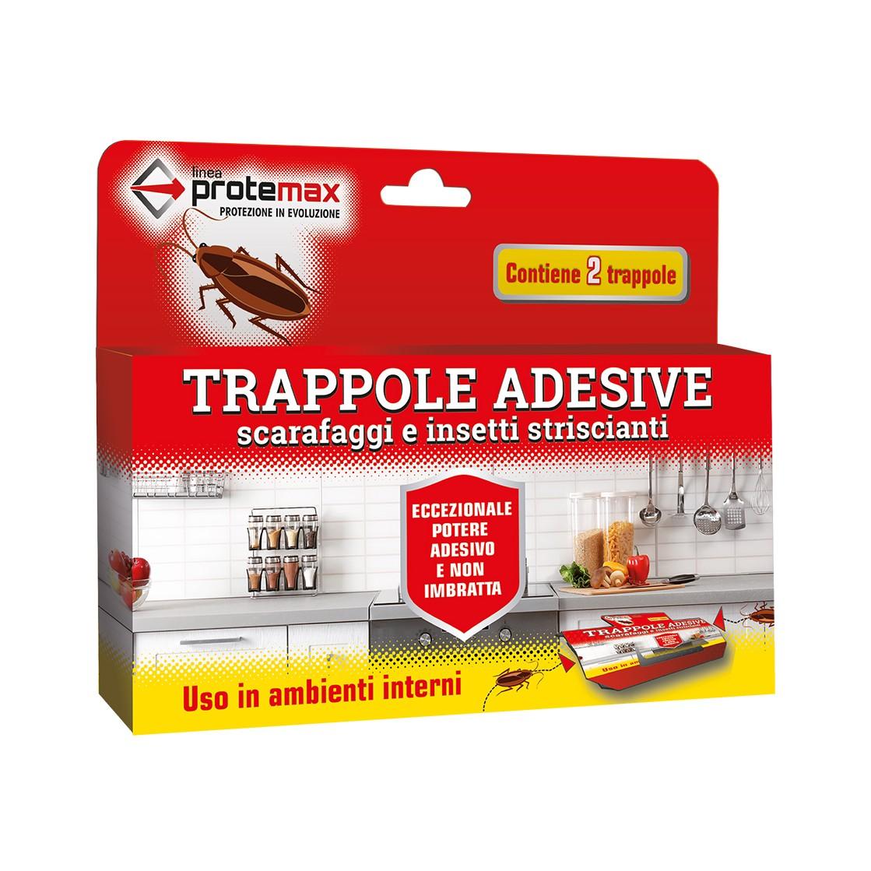 Protemax Scarafaggi Trappole Adesive