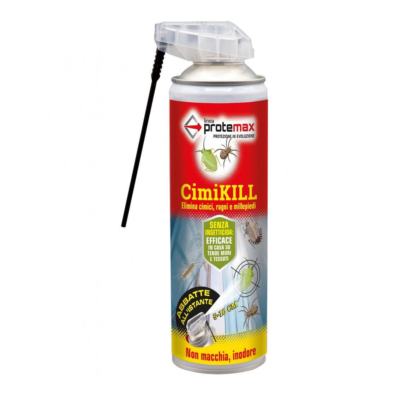Protemax Cimi-Kill Ragni Cimici e Millepiedi Spray 500 ml