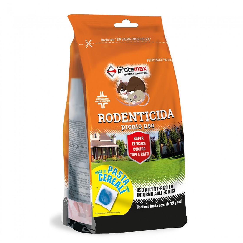 Protemax Rodenticida Pasta Bf Blu Con Cereali Busta 150 gr