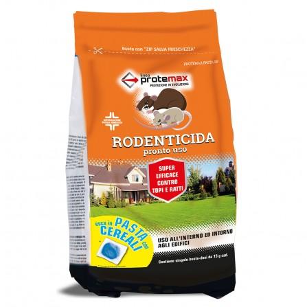 Protemax Rodenticida Pasta Bf Blu Con Cereali Busta 1,5 Kg