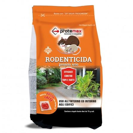 Protemax Rodenticida Pasta Df Rosso Con Farina Di Latte E Zucchero Busta 1,5 Kg