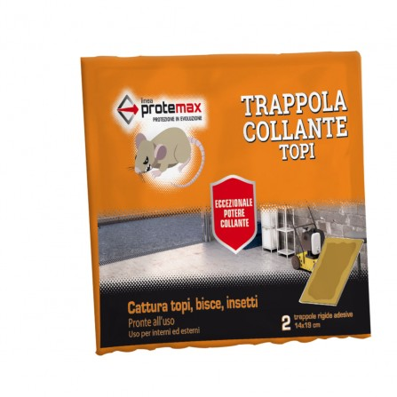 Protemax Trappola Collante Topi Miny